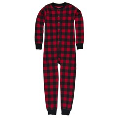 Hatley Kid Union Pajamas - Moose on Plaid, size 2