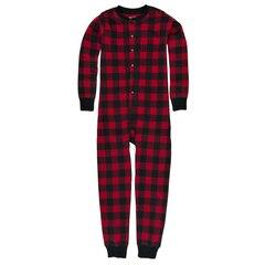 Hatley Kid Union Pajamas - Moose on Plaid, size 4