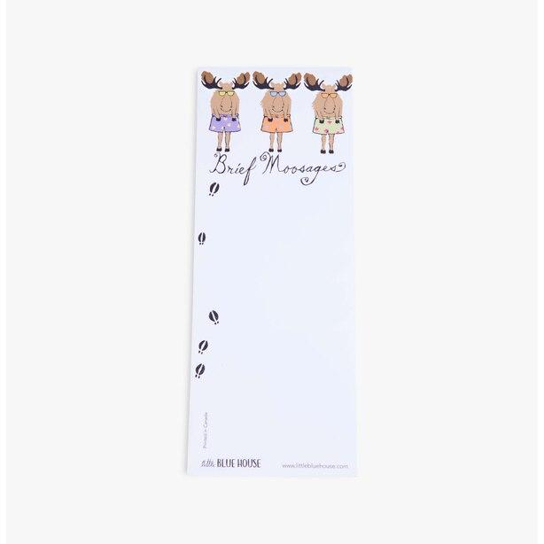 Brief Moosages Notepad