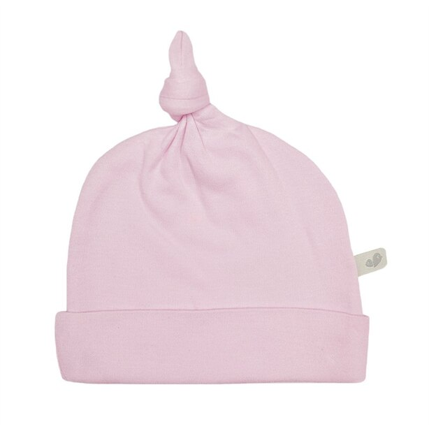 Perlimpinpin Bamboo Knotted Hat - Pink
