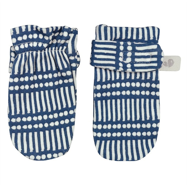 Perlimpinpin Bamboo Scratch Mitts - Sticks