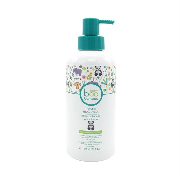 Baby Boo Bamboo Unscented Lotion - 600 ml