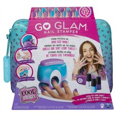 Cool Maker GO GLAM Nail Stamper Nail Studio with 5 Patterns to Decorate 125 Nails (Packaging May…