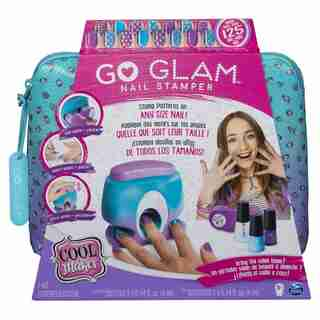 Cool Maker GO GLAM Nail Stamper Nail Studio with 5 Patterns to Decorate 125 Nails (Packaging May Vary)