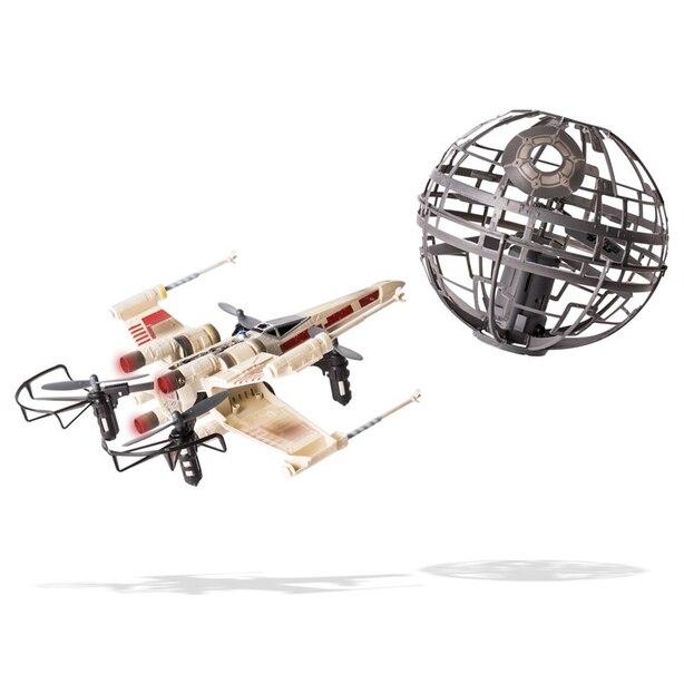 Air Hogs - Star Wars - X-wing vs. Death Star, Assaut rebelle - Drones radiocommandés