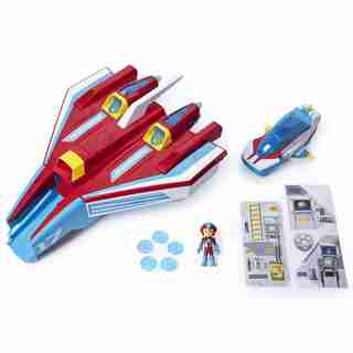 PAW Patrol Super PAWs Mighty Jet Command Center