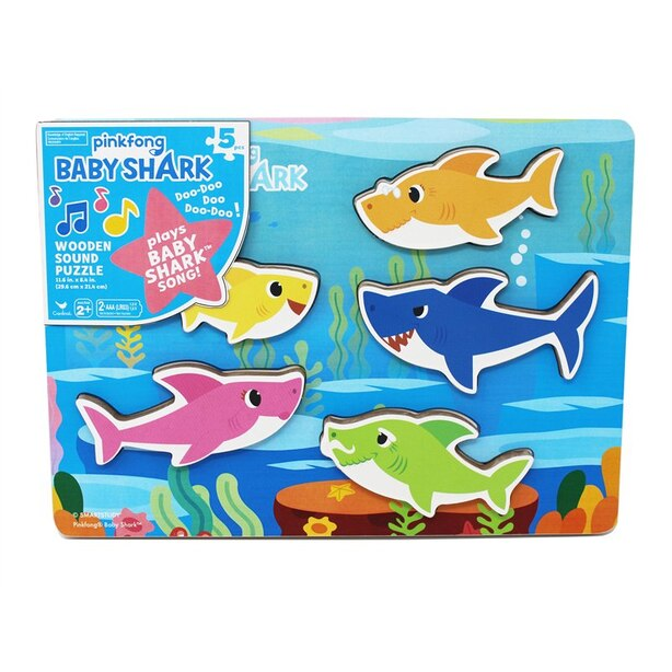 Pinkfong Sound Puzzle Baby Shark 5 Pieces