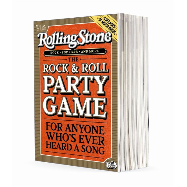 Rolling Stone The Music Trivia Game by Big Potato | Toys | www.chapters.indigo.ca