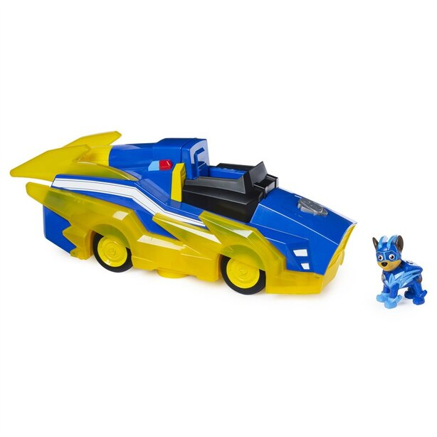 Paw Patrol Charged Up Deluxe Vehicle - Chase