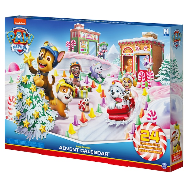 PAW Patrol 2020 Advent Calendar with 24 Exclusive Collectible Pieces