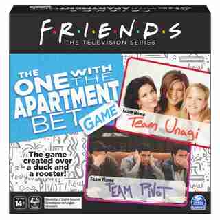 Friends TV Show The One with the Apartment Bet Party Game