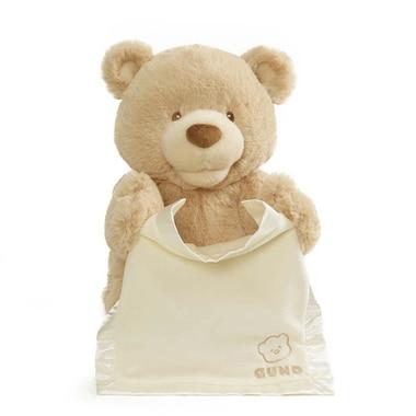 Gund® Interactive Plush Animal Peek-A-Boo Teddy Bear