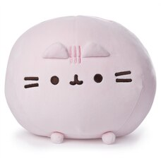 GUND Pusheen Peluche souple de chat Squisheen rose 27,9 cm