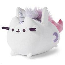 GUND Pusheen Peluche Super Pusheen licorne chat licorne à serrer avec ailes mobiles blanc