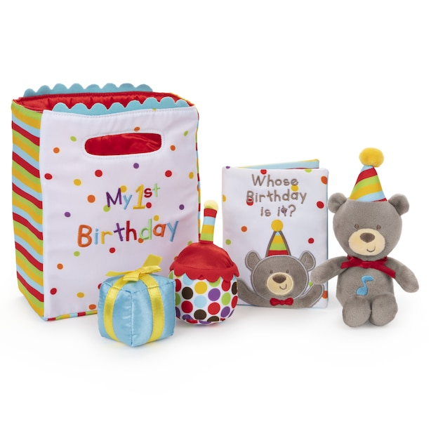 Gund My First Birthday Stuffed Playset 5 Pieces