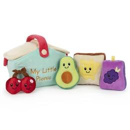 "Baby GUND My Little Picnic Stuffed Plush Playset, 5 Pieces, 7"""