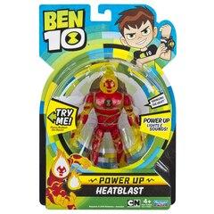 Ben 10 Power Up Heatblast Deluxe Figure
