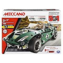 Meccano 5 Model Set Pull Back Car