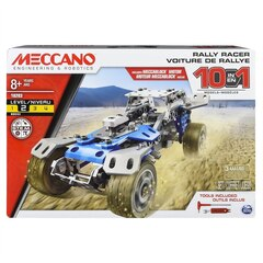Meccano 10 Model Set Motorized Car