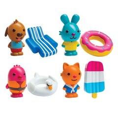 SAGO MINI EASY-CLEAN BATH SQUIRTERS 8PC SET