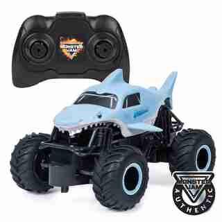 Monster Jam Official Megalodon Remote Control Monster Truck 1:24 Scale 2.4 GHz