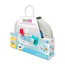 Sago Mini Bathtub Floating Playset Yeti's Pool Party and Accessories