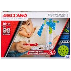 Meccano Set 3 Geared Machines S.T.E.A.M. Building Kit