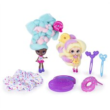 Candylocks BFF 2 Pack Jilly Jelly and Donna Nut Scented Collectible Dolls with Accessories