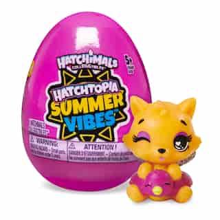 Hatchimals CollEGGtibles, Coffret de 1 Hatchtopia Summer Vibes, pour les enfants à partir de 5 ans (les styles peuvent varier)