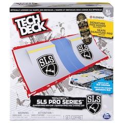 Tech Deck SLS Pro Series - Quarter Pipe with Gap + Signature Pro Board