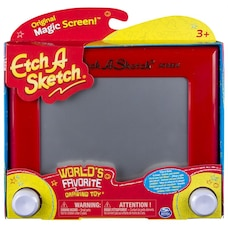 Etch A Sketch Classic Red Drawing Toy with Magic Screen