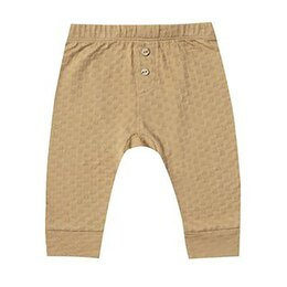 Quincy Mae Pointelle Pajama Pant 6-12 Months Honey