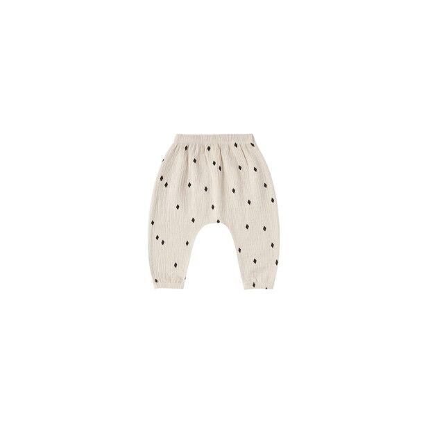 Pantalon Saroual Tissé