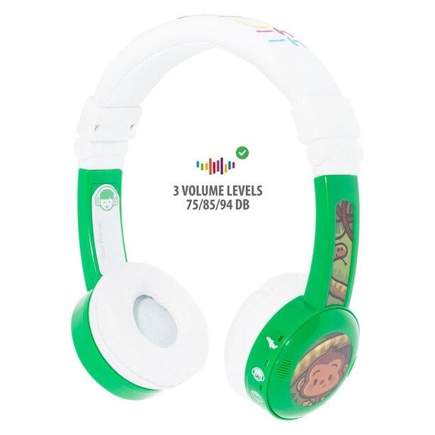 BuddyPhones InFlight, Headphones - Green