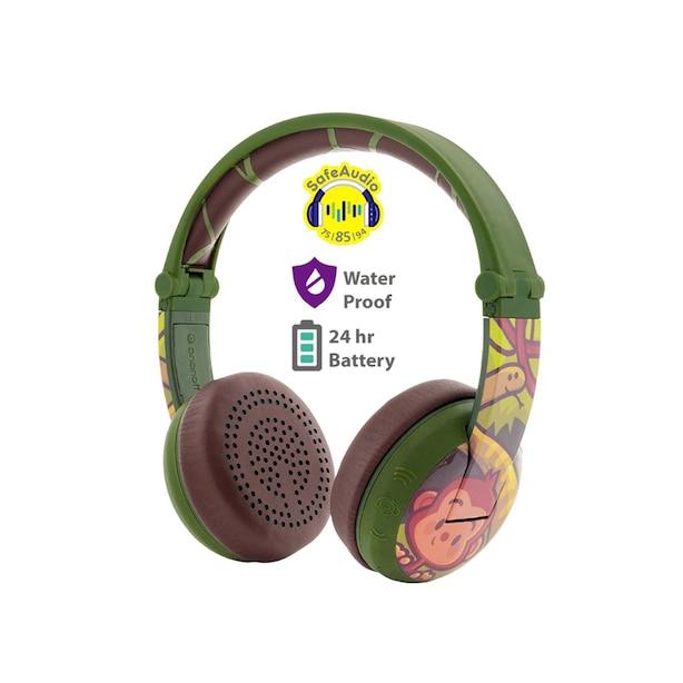 BuddyPhones Wave Wireless - Monkey Green