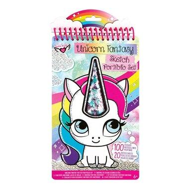 Fashion Angels® Compact Sketch Portfolio Unicorn Fantasy