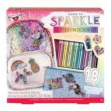 Fashion Angels® Glitter Pin Design Kit