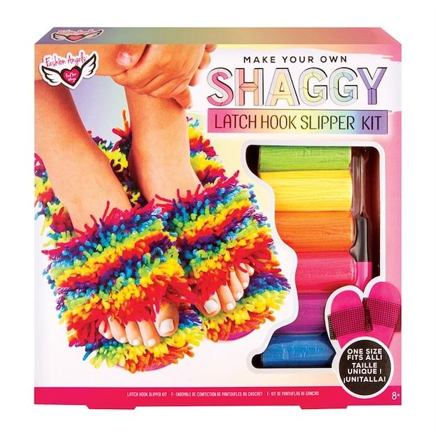 Fashion Angels® Latch Hook Slipper Kit