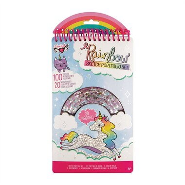 Fashion Angels® Compact Doodle Book Rainbow Shaker