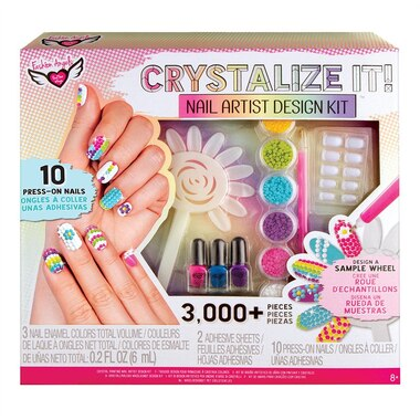 Fashion Angels® CRYSTALIZE IT! Nail Artist Design Kit