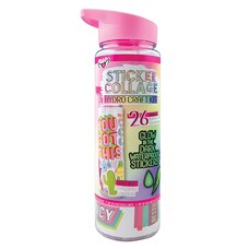 Sticker Collage Hydro-Craft Water Bottle Kit