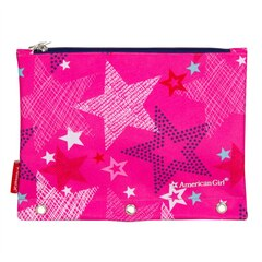 American Girl PENCIL POUCH (PINK STAR)