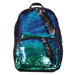Magic Sequins Backpack, Mermaid/Black