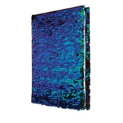S.Lab Magic Sequin Journal- Mermaid/Black