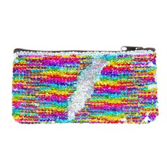 S.Lab Magic Sequin Mini Pencil Pouch - Rainbow