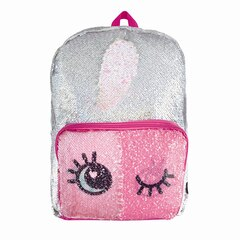 MAGIC SEQUINS BACKPACK, SILVER WINK REVEAL