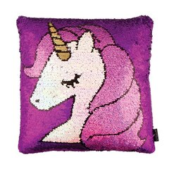 Fashion Angels® Magic Sequin Pillow Unicorn Pink and Purple