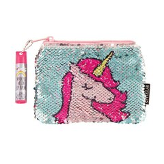 Fashion Angels® Style Lab Magic Sequin Pouch Bag with Lip Balm Unicorn