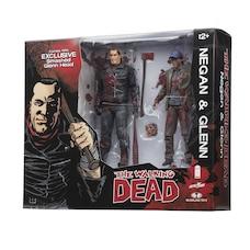 Walking Dead: Negan & Glenn Color Bloody - 2-Pack Action Figures