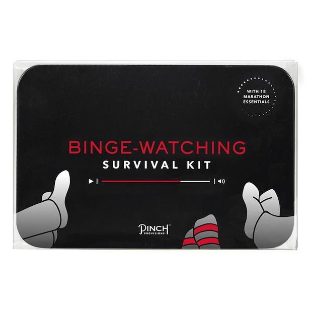 BINGE WATCHING SURVIVAL KIT